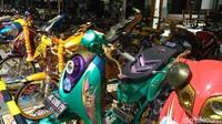 9 Modifikasi Nyeleneh Sepeda Motor, Bikin Auto Ngakak!