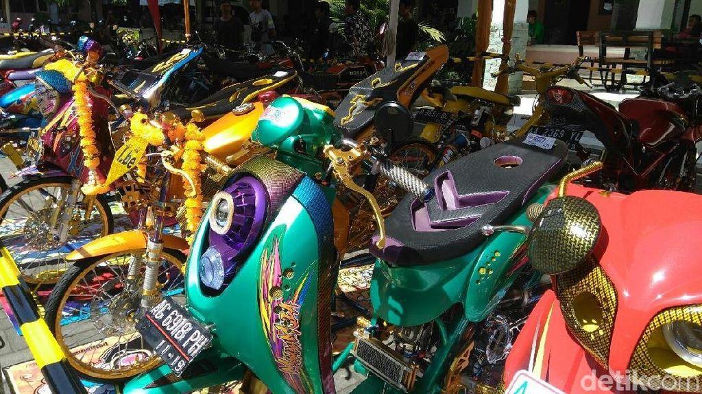 Aneka Motor Adu Cantik di Purworejo
