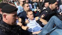Demo Putin, Pemimpin Oposisi Rusia Ditangkap