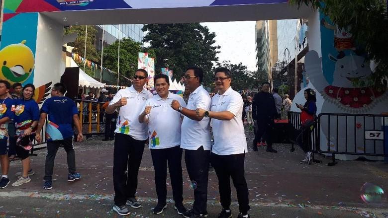 Promosikan Asian Games, INASGOC dan BRI Gelar Sunday Fest 2018