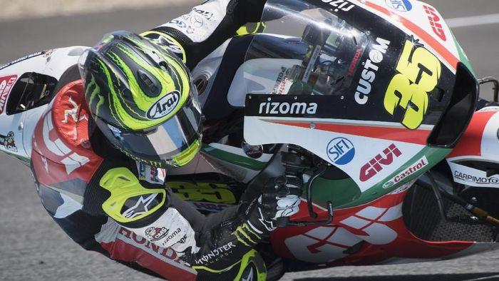 Cal Crutchlow akan start dari posisi terdepan di MotoGP Spanyol (Foto: Mirco Lazzari gp/Getty Images)