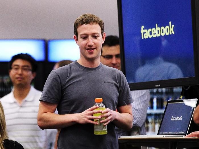 Mark Zuckerberg Tidak Mau Lagi Bikin Resolusi Tahun Baru Foto: Getty Images/Justin Sullivan