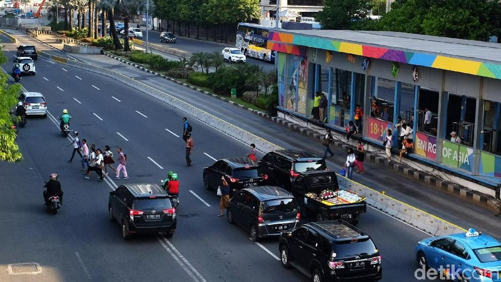Ganjil Genap di Arteri Jakarta Bakal Seharian Saat Asian Games
