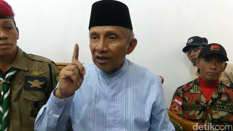 Prabowo-Sandiaga, Amien Rais: Ini Campur Tangan Langit