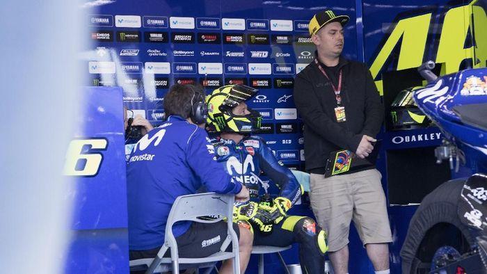 Valentino Rossi akan start dari posisi kesepuluh di MotoGP Spanyol (Foto: Mirco Lazzari gp/Getty Images)