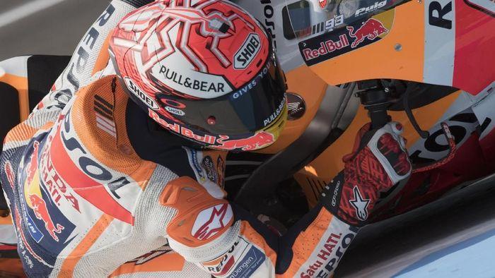 Marc Marquez tampil sebagai pemenang balapan MotoGP Spanyol (Foto: Mirco Lazzari gp/Getty Images)