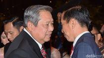 Jokowi-JK Jenguk SBY di RSPAD