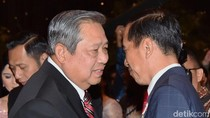 Momen Salaman Jokowi-SBY Jelang Deklarasi Kampanye Damai di Monas