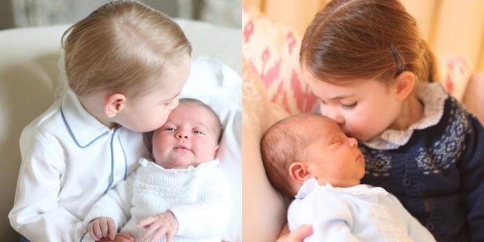 Pangeran George, Putri Charlotte dan Pangeran Louis. Foto: Dok. Kensington Palace