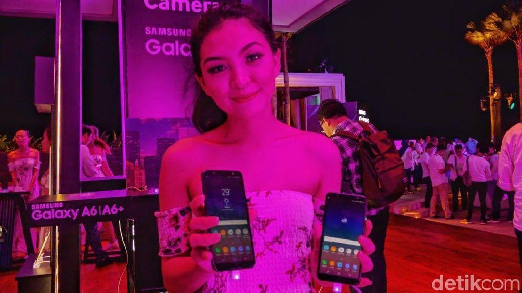Melihat Aksi Perdana Galaxy A6 dan A6+