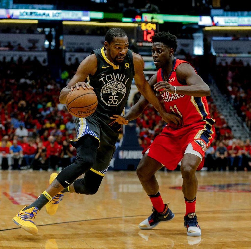 Hajar Pelicans, Warriors Kini Unggul 3-1