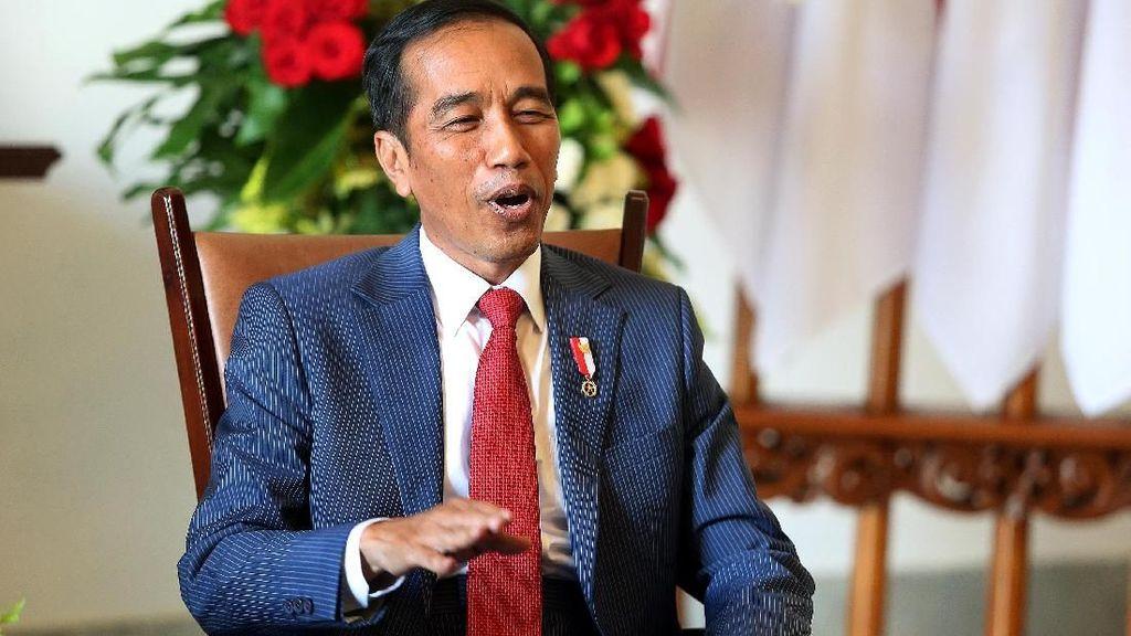 Selamat Ulang Tahun Jokowi Bergemuruh di Medsos
