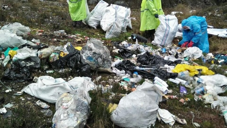 Sampah di Puncak Carstensz (Adventure Carstensz)