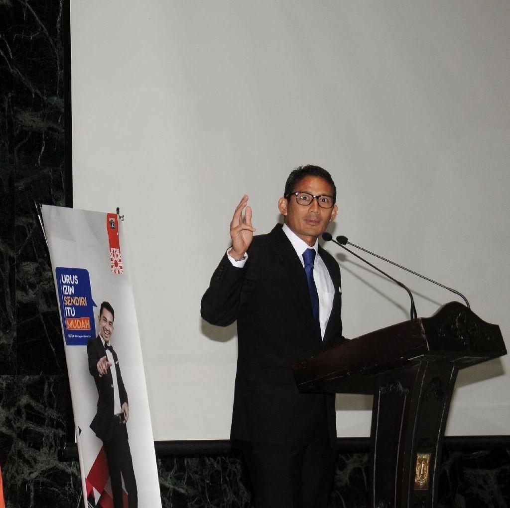 Sandi Putuskan Pembangunan LRT Jakarta Fase II Pakai Skema KPBU