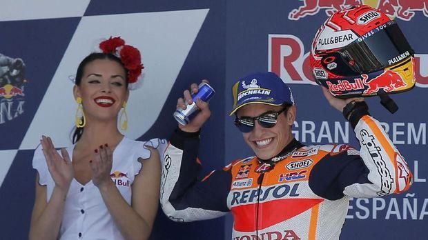 Marc Marquez bakal berusaha meraih tiga kemenangan beruntun setelah sebelumnya ia berjaya di Amerika Serikat dan Spanyol.
