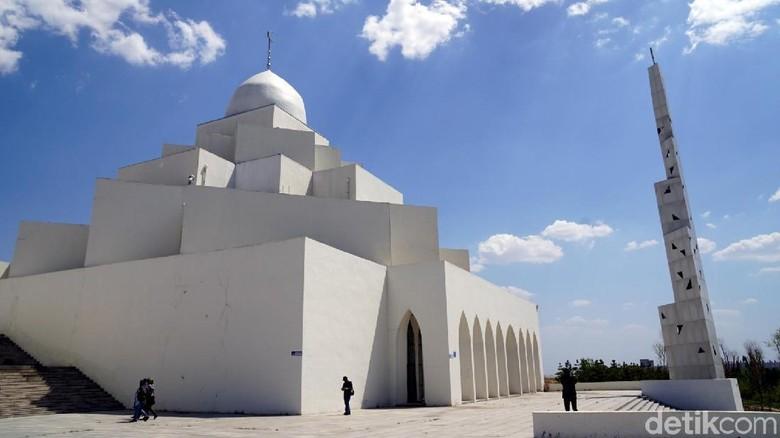 Masjid Dongsheng di Inner Mongolia, China (Wahyu/detikTravel) (Wahyu/detikTravel)