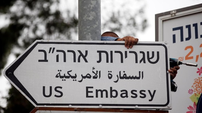 Gedung Putih: Trump Tak Hadiri Pembukaan Kedubes AS di Yerusalem