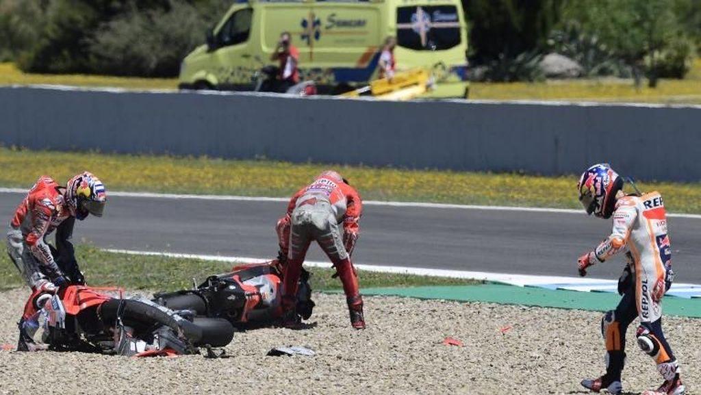 Jatuhnya Tiga Pebalap Paling Bersih di MotoGP