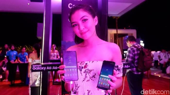 Foto: Samsung resmi merilis Galaxy A6 dan A6+ di Indonesia (detikINET/Adi Fida Rahman)