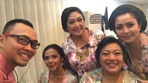 Hadiri Siraman Cucu Soeharto, Mayangsari Sudah Diterima Cendana?