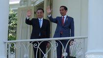 Jokowi Sambut PM China di Istana Bogor