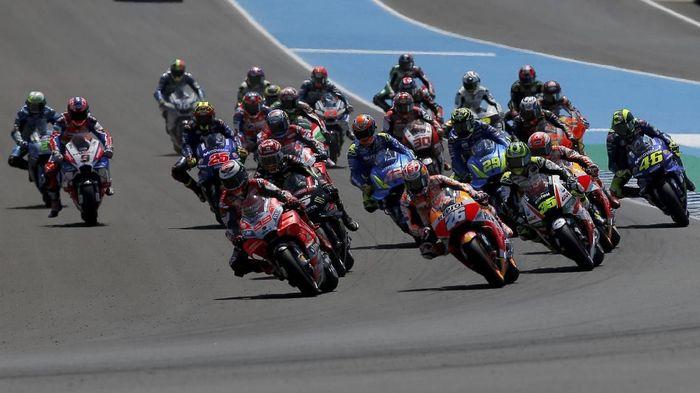 Tonton live streaming MotoGP Prancis di detikSport (REUTERS/Jon Nazca)