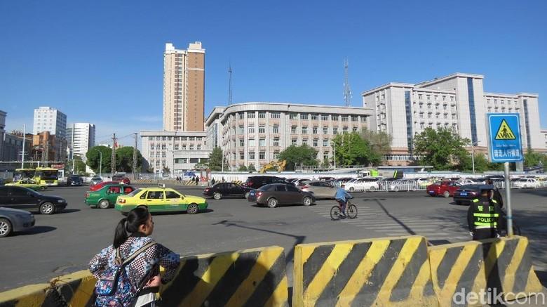 Kota Urumqi yang paling jauh dari laut (Fitraya/detikTravel)