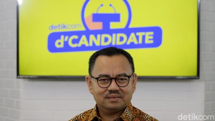 Cagub Jawa Tengah, Sudirman  Said (Foto: Muhammad Ridho/detikcom)