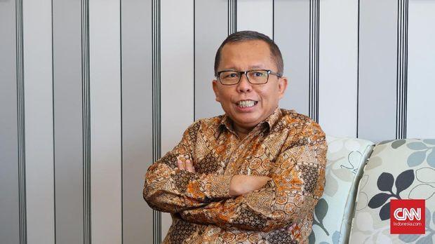 Sekretaris Jenderal PPP Arsul Sani, di kantor Setkab, Jakarta, Senin (7/5).