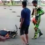 Ini Tindakan yang Diambil Bila Motor Anda Terbakar