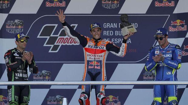 Di MotoGP 2018 Iannone sudah dua kali naik podium.