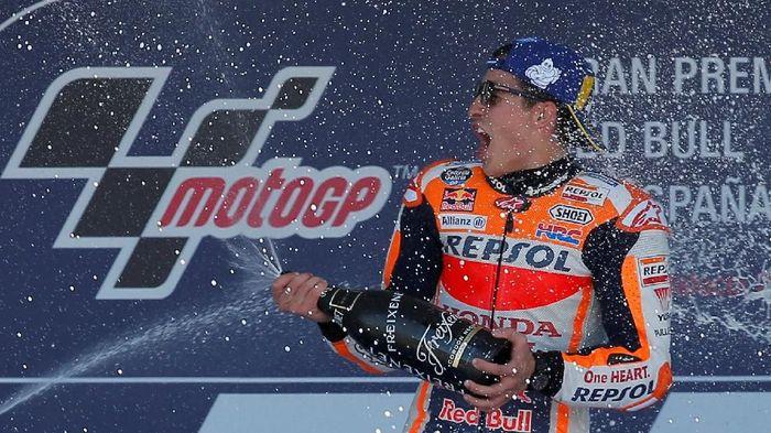 Marc Marquez sudah cukup lama tidak juara di MotoGP Prancis (Foto: Jon Nazca/Reuters)