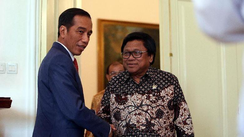 PKB-Golkar Siap Evaluasi Dukungan ke Jokowi, OSO: Tak Ikhlas Dong?