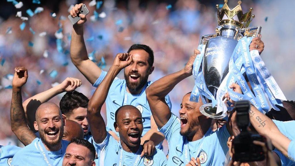 Premier League 2017/2018: Musim Milik Manchester City dan Salah
