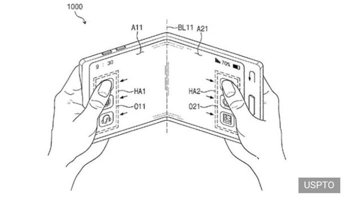 Foto: Ponsel Lipat Samsung Galaxy X Kian Nyata