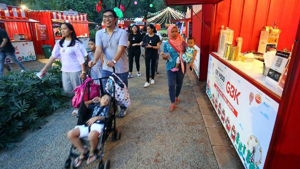 Pasar Malam Jadi Bentuk Komitmen Go-Jek pada Mitra