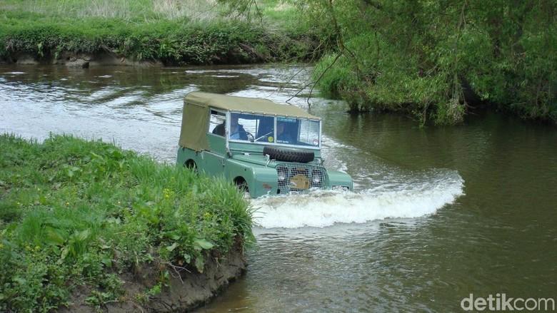 Prototype mobil pertama Land Rover (Foto: Land Rover)
