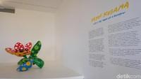 Lewat pameran Yayoi Kusama: Life is the Heart of a Rainbow, eksibisinya dibuka untuk umum pada 12 Mei hingga 9 September 2018. Foto: (Agnes/detikhot)