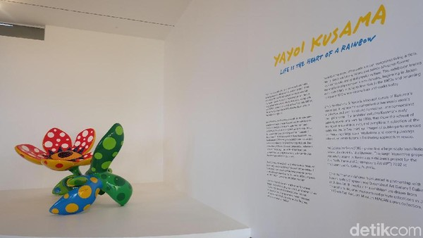 Sulitnya Pamerkan Karya-karya Yayoi Kusama di Jakarta