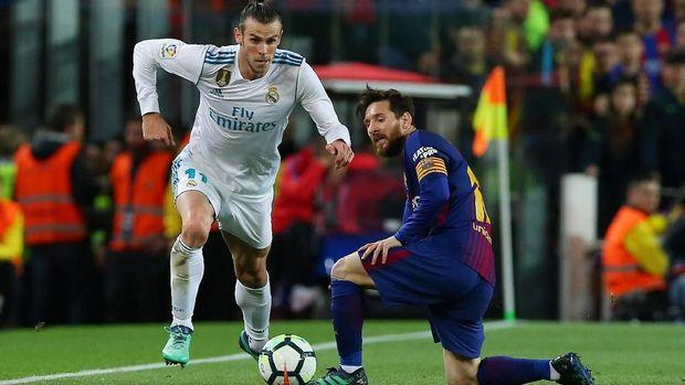 Gareth Bale menyelamatkan Real Madrid dari kekalahan di markas Barcelona. (