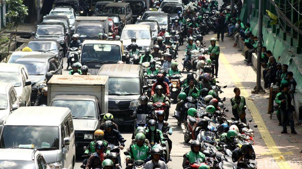 Ditolak Jadi Angkutan Legal, Driver Ojol Harap Tetap Diperhatikan