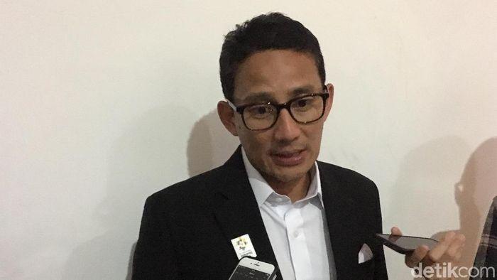 Wakil Gubernur DKI Jakarta Sandiaga Uno/Foto: Indra Komara/detikcom