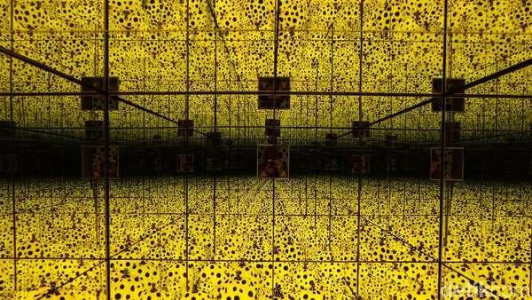 Instagramable Banget! Karya-karya Yayoi Kusama di Museum MACAN