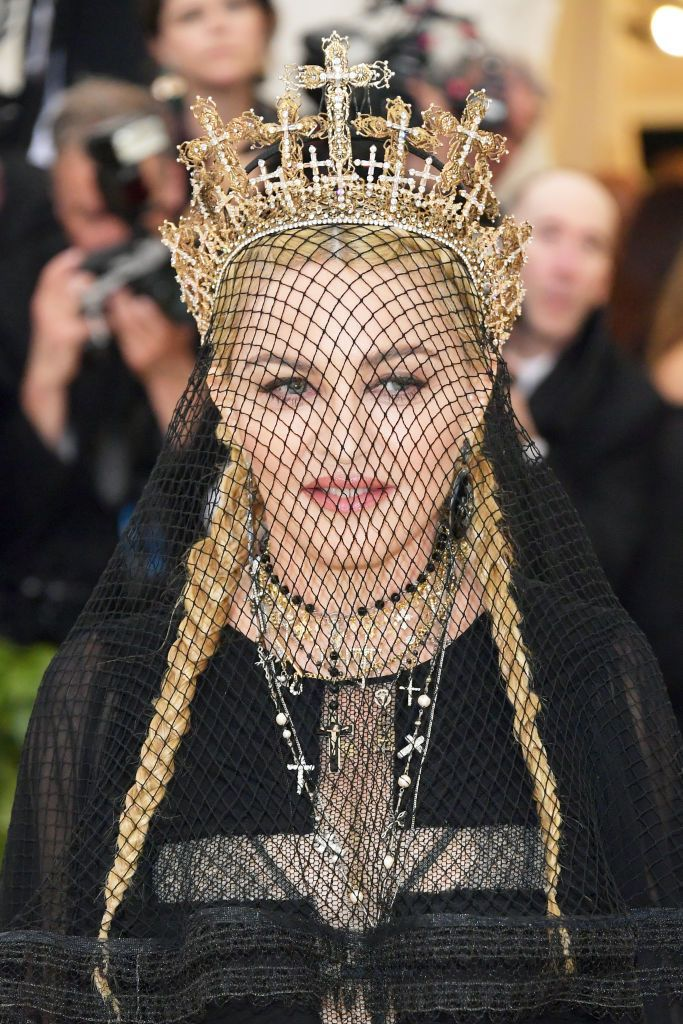 Madonna arrives at the Metropolitan Museum of Art Costume Institute Gala (Met Gala) to celebrate the opening of