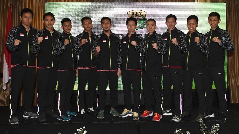 Piala Thomas 2018: Susunan Pemain Indonesia vs Korea