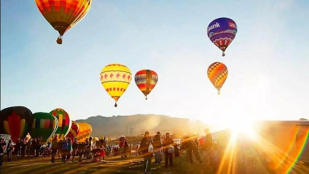 Foto: Inikah Festival Balon Udara Tercantik di Dunia?