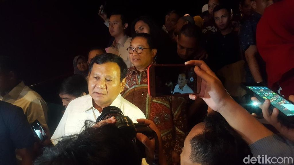 Prabowo Nobar 212 The Power of Love, Fauzi Baadila: Responsnya Bagus!