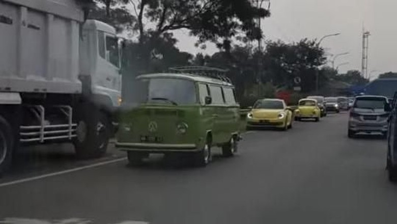 Viral Konvoi VW Lawan Arah Dikawal Polisi, Bolehkah?