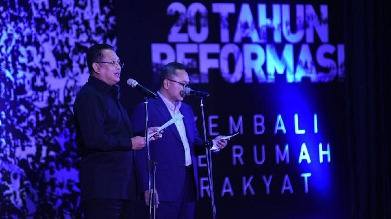 20 Tahun Reformasi, Bamsoet: Kami Tak Biarkan DPR Jadi Tembok Besi