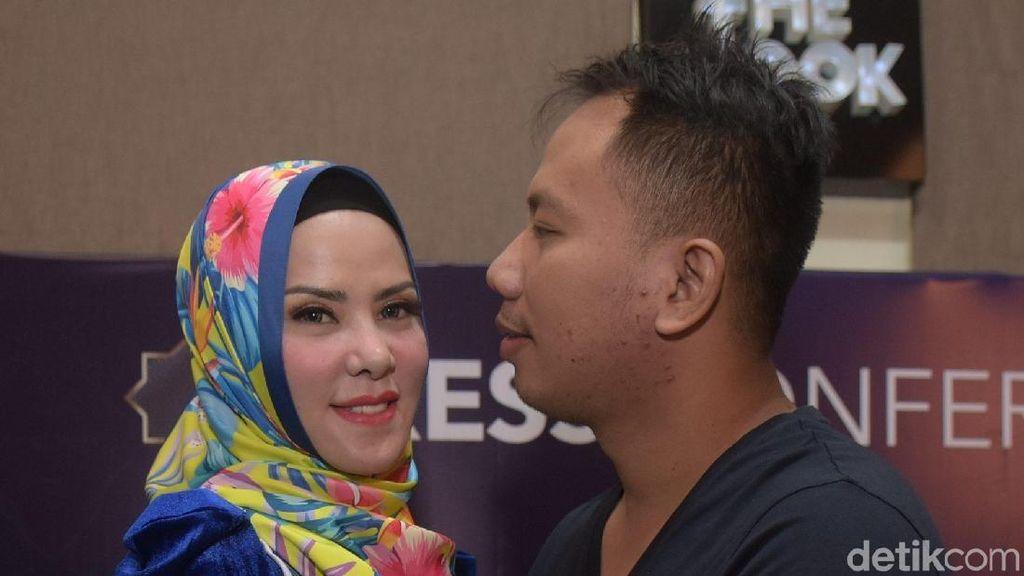 Angel Lelga Bantah Hamil, Tuding Vicky Cari-cari Alasan Rujuk